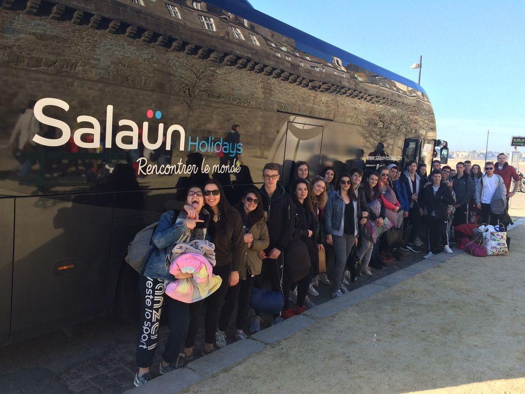 départ Prague bus - blog